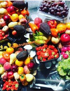 fruitschaal op het werk
