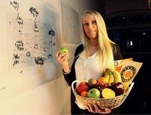 fruitmand op kantoor Schiedam